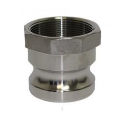 Камлок с вътрешна резба, алуминий, Тип - A