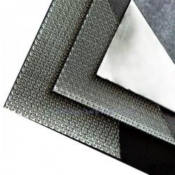 Безазбестов лист, черен графитен с метална неръждаема стомана 316/304, (-200оС ~ +500оС) - 400 Bar